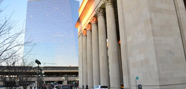 30th Street Station is Amtrak's third busiest station
