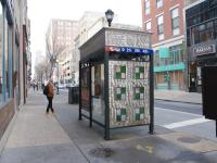 7th and Chestnut bus stop