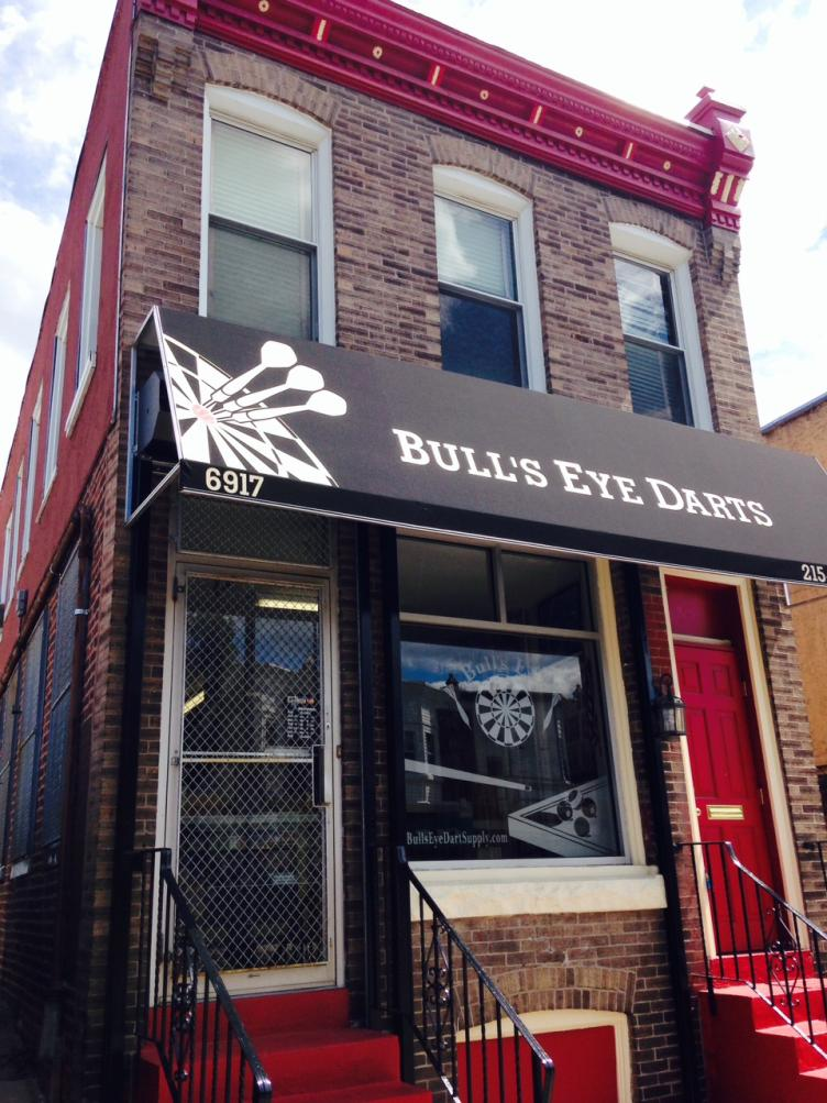 AFTER: Bull's Eye Darts, Torresdale Avenue
