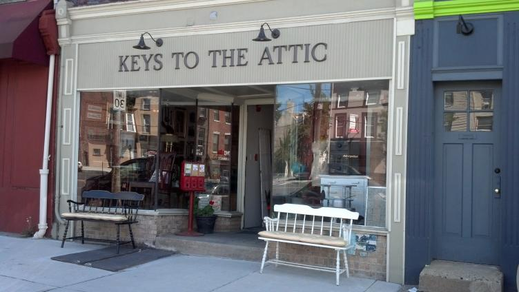 AFTER: Keys to the Attic, Girard Avenue