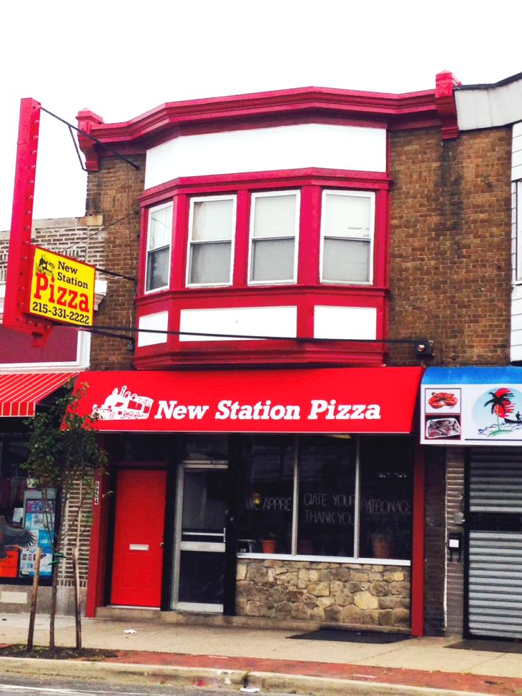 AFTER: New Station Pizza, Torresdale Avenue