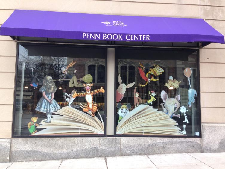 AFTER: Penn Book Center, South 34th Street