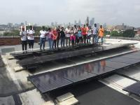 As part of the Solarize Philly program, the city is training Philadelphia public school students for future jobs in the solar industry.