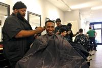 """Barbering is not just cutting hair,"" South Street Barbers' Mike Jordan says. ""You got counseling, advising, you get friendships."