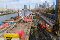 Boardwalk Construction on Schuylkill Banks