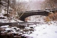 Bridge over the Wissahickon in winter (Credit: Gary Citrone)