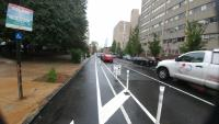 buffered bike lane chestnut