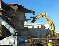 Bunting House demolition