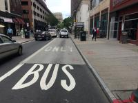 Bus Stop Pad at 7th and Chestnut St./Jim Saksa, PlanPhilly