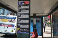 Center City District update signage at 70 bus stops and added maps and timetables to 24 new stops