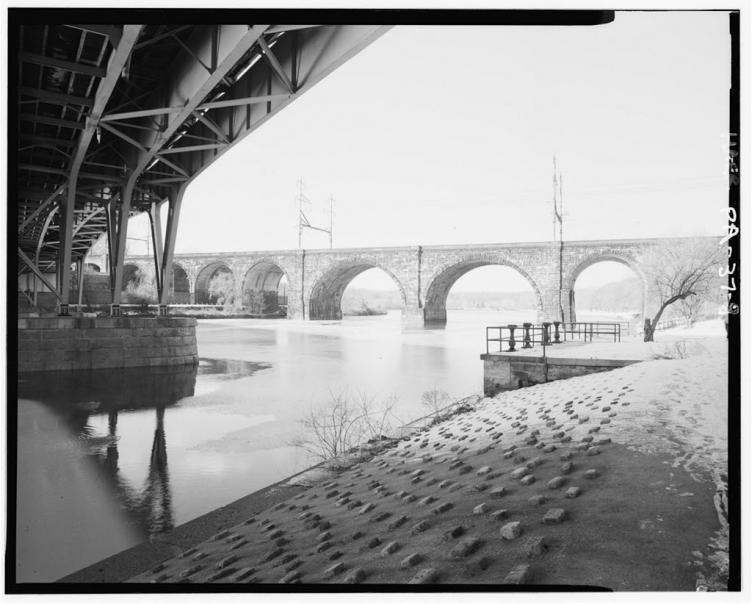 Connecting Railway Bridge over Schuylkill River | Library of Congress, Prints & Photographs Division, HAER, Reproduction no. HAER PA,51-PHILA,695--8