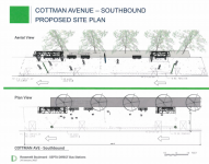 Cottman Ave. - Southbound Proposed Site Plan