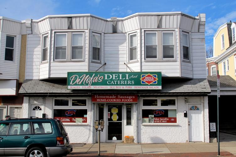 DeNofa's Deli before renovations, 2012.