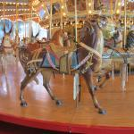 Dentzel carousel at Please Touch Museum