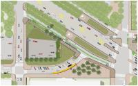 Diagram of Winter Street Realignment