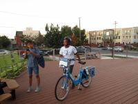 Digital Skills and Bicycle Thrills: Indego orientation at Lutheran Settlement House | Samantha Maldonado