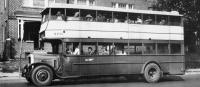 Double decker bus operated by PTC in 1940