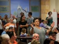 Fishtown zoning meeting on St. Laurentius reuse, September 20, 2016 | Brad Larrison for WHYY
