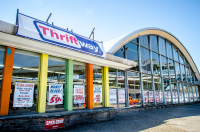 Former Penn Fruit turned Thriftway, 2012 | Theresa Stigale, EOTS Flickr Group