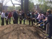 Groundbreaking Centennial Commons at West Fairmount Park.