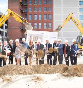 Groundbreaking for PCDC & Project Home development at 810 Arch St