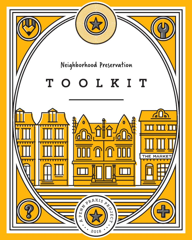 The cover of the Neighborhood Preservation Toolkit. | Saygrid
