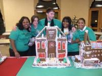 Wesley Enhanced Living's Pennypack Park staff won Thursday's Gingerbread House Wars. Photo supplied by WEL.