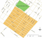 The boundaries of PhillyRising's Lawncrest initiative. Image/PhillyRising Collaborative