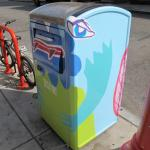 BigBelly Solar compactor critter on South Street