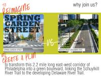 Reimagine Spring Garden Street with the Pennsylvania Environmental Council | Interface Studio