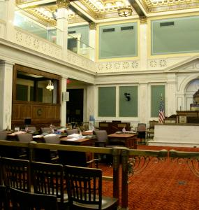 City Council chambers.