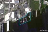 Piers 64-70, behind the box stores, will become a waterfront park. | DRWC