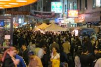 Night Market packed the streets of Chinatown last fall and will return for the season in May.