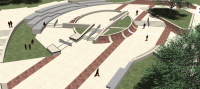 Paine's Park, a new skatepark designed by Friday Architects for an area near the Art Museum, got final approval from the Art Commission on Wednesday.