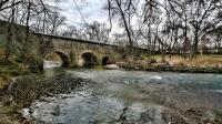 The Pennypack Creek Bridge is more than 300 years old. | courtesy of Fred Moore