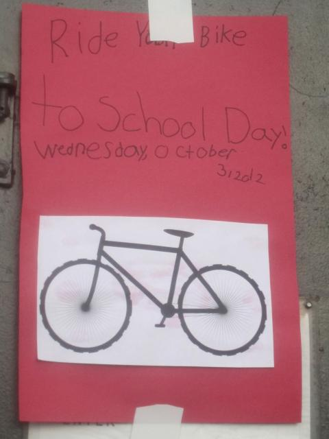Each week a handful of the 19 participating schools will host walk and ride to school days to celebrate Walk and Roll to School month