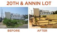 20th and Annin: Before and After | pleasefixphilly.com