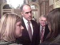 Green tour meets Sen. Casey