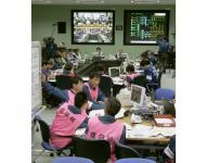 Staff at Tokyo Electric Power Co.'s Fukushima Daiichi Nuclear Power Plant practice countermeasures for a nuclear emergency