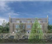 An artist rendering of Green Woods Charter School at Greylock Manor in Chestnut Hill. (Photo from Green Woods Charter School)