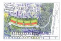 Property owner Greg Ventresca's latest vision for developing his eight-acre portion of the 20-acre Germany Hill area.
