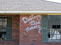 Destroy This Memory by Richard Misrach, a new book that documents and reflects on the aftermath of Hurricane Katrina