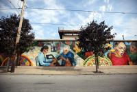 Mural at N. 6th St. (photo by Neal Santos)