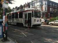 SEPTA's Route 34 trolley resumed regular service early this month