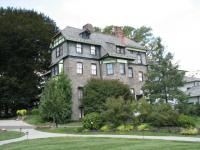 The Knowlton mansion sits on a 12-acre site at 8001 Verree Rd.