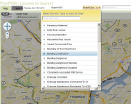 A screenshot of a draft of the License to Inspect tool, built by Azavea for PlanPhilly using the new L&I app