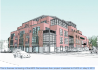 Design for 8200 Germantown Ave. project modified slightly
