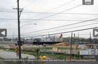 The Bakers Centre site is at the corner of Roberts Ave. and Fox St. (Bas Slabbers/for NewsWorks)