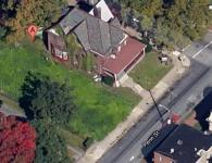 Community leaders in Frankford are trying to prevent a drug rehab house from operating at 4834 Penn St. Image/Google Maps