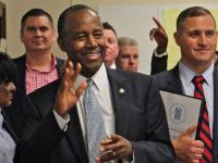 HUD Sec. Ben Carson tours Vaux Big Picture High School in Philadelphia on Tuesday